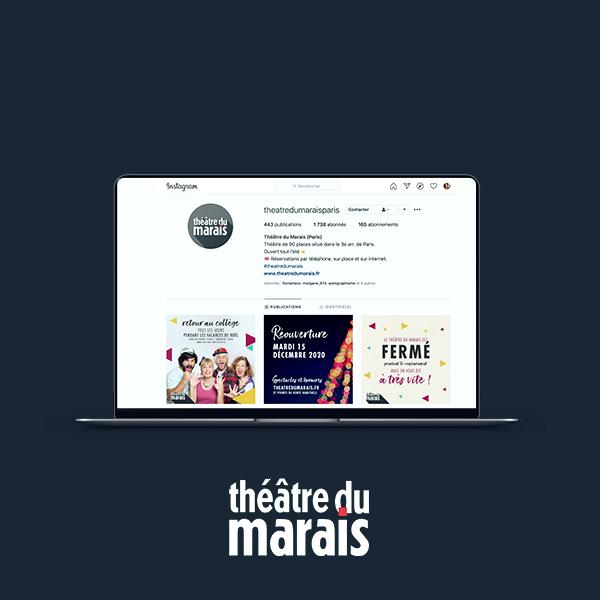 Community management du Théâtre du Marais